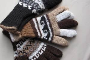 Alpaka-Handschuhe